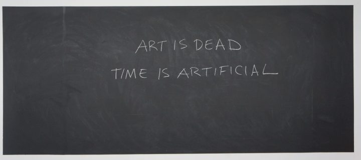 Art is Dead:Time is Artificial
